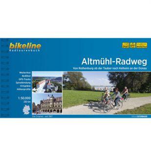 Altmühl Radweg Bikeline Fietsgids