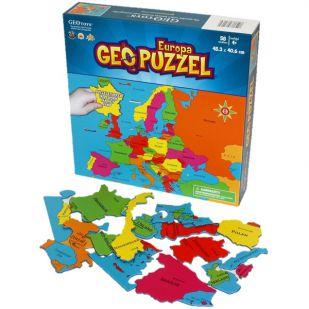 Europa Geo Puzzel 483 mm x 320 mm