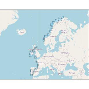 Eurovelo 1 Atlantikküsten-Radweg Atlantic Coast Route