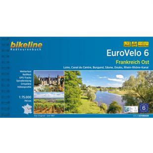Eurovelo 6 Frankreich Ost Bikeline Fietsgids