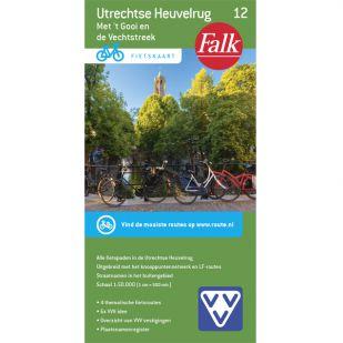Fietskaart 12 Utrechtse Heuvelrug (2020)