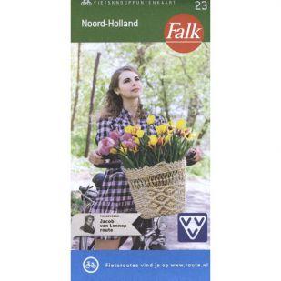 Falk Fietsknooppuntenkaart 23: Noord-Holland