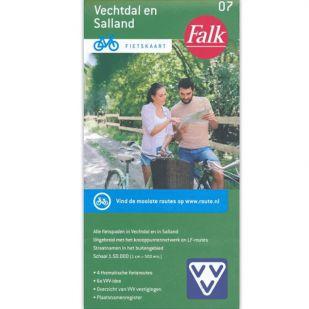 Fietskaart 7 Vechtdal en Salland (druk 2021)