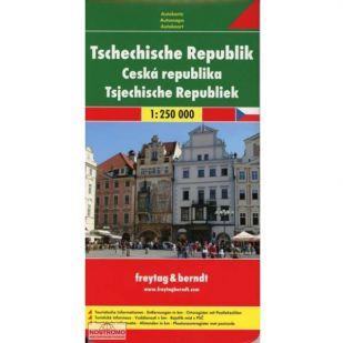 F&B Tsjechische Republiek 1:250.000 !