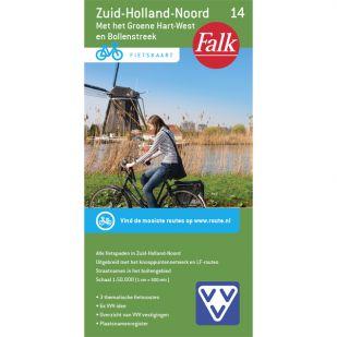 Fietskaart 14 Zuid-Holland-Noord (druk 2020)
