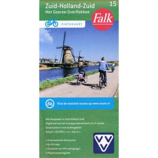 Fietskaart 15 Zuid-Holland-Zuid (druk 2021)
