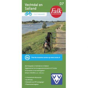 Fietskaart 7 Vechtdal en Salland (druk 2020)