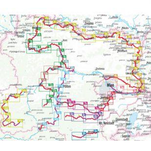 Fluss-Radwege Niederosterreich Bikeline Fietsgids