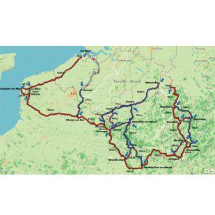 Fietsgids Groene Valleien Fietsroute (2020)