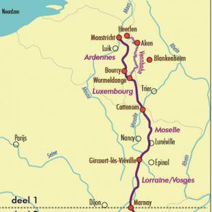 Fietsgids Groene Weg Naar De Middellandse Zee 1 - 2020