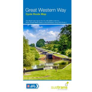 Sustrans Map Great Western Way (London - Bristol)