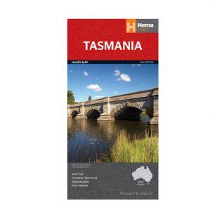 Tasmanië Australië Handy, Hema Maps - 1:480.000