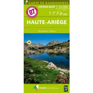 Pyrénées Carte no.7: Haute-Ariege