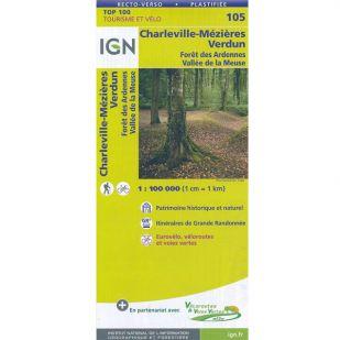 IGN 105 Charleville-Mezieres/Verdun