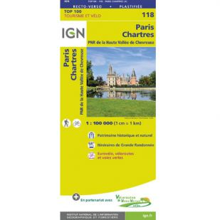 IGN 118 Paris Chartres