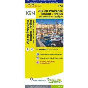 IGN 172 Toulon/Aix-En-Provence