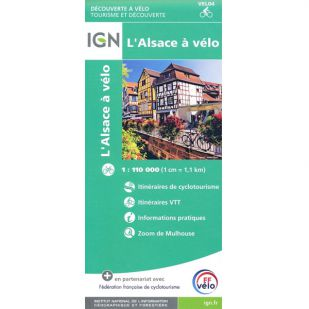 L'Alsace a Velo (IGN)
