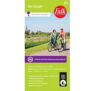 Fietskaart Regio De IJssel