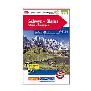Schwyz/Glarus Velokarte 12