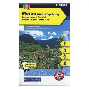 KF2 Merano und Umgebung - Outdoorkaart