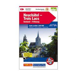 Neuchatel/Pontarlier/Trois Lacs Velokarte 8