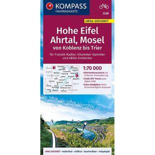 KP3338 Hohe Eifel - Ahrtal - Mosel - Von Koblenz bis Trier
