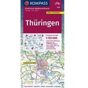 KP3707 Radkarte Thuringen