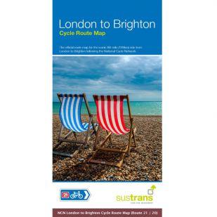 Sustrans Map London to Brighton