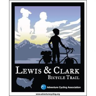 VS - Lewis & Clark Bicycle Trail (8 kaarten)