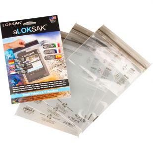 Loksak - waterdicht beschermhoesje 15,9 X 22,9 CM 3 ST. (iPad Mini/ E-Reader)
