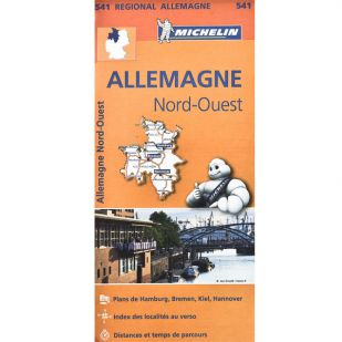 Michelin 541 Duitsland Noord West