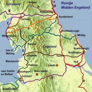 Fietsrondje(s) Midden-Engeland