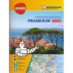 Wegenatlas Frankrijk Michelin 2021