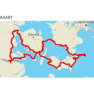 In uw App-store: Ostseeradweg N8 - Denemarken