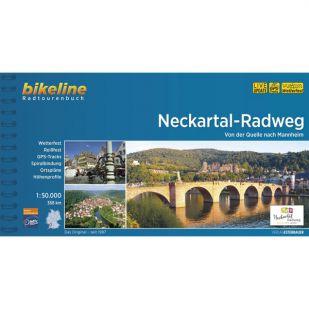 Neckartal Radweg Fietsgids Bikeline 2021