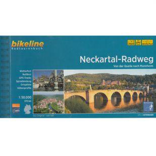 Neckartal Radweg Fietsgids Bikeline 2019