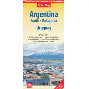 Nelles Argentinië-Zuid, Patagonië en Uruguay