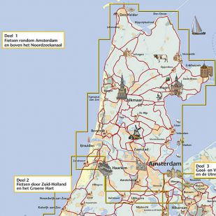 Fietsroute door Noord-Holland en rond Amsterdam (Fietsroute Rond Oud Holland - deel 1) !