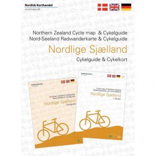 Noord-Seeland (DK) Fietskaart én gids