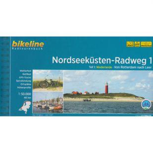 Nordseekusten Radweg 1 Bikeline Fietsgids