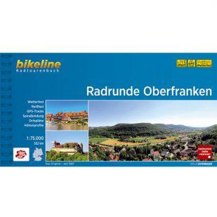Radrunde Oberfranken Bikeline Fietsgids !