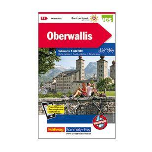 Oberwallis Velokarte 21