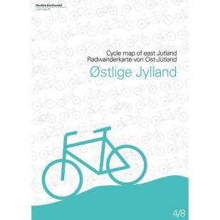 Oost-Jutland (DK) fietskaart