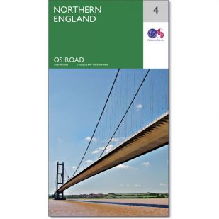 OS Road Map 4: Northern England