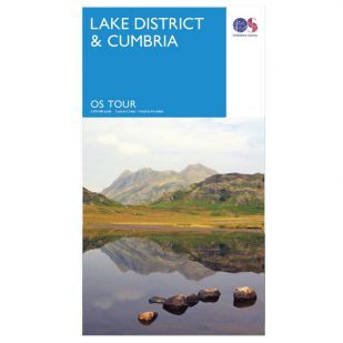 Lake District OS Tour Map