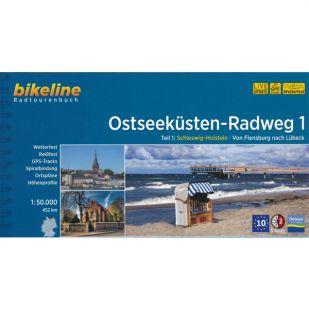 Ostseekusten Radweg 1 Bikeline Fietsgids