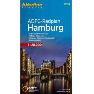 Radplan Hamburg - Bikeline Fietskaart
