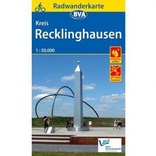 Recklinghausen Kreis Radwanderkarte