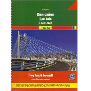 F&B Roemenië Superatlas - 1:300.000