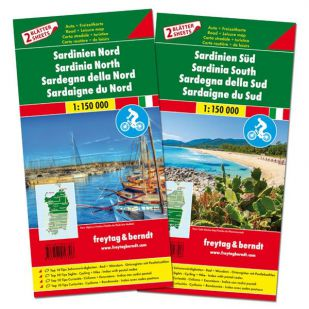 F&B Sardinië Noord en Zuid (2 kaarten)